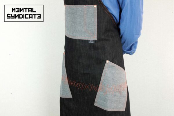 ''AM'' Denim Apron - 0