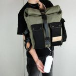 ''Aviator'' Roll Top Backpack - 7