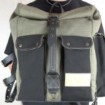 ''Aviator'' Roll Top Backpack - 5
