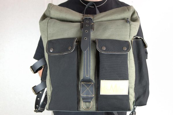 ''Aviator'' Roll Top Backpack - 6