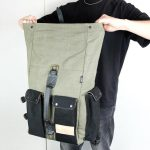 ''Aviator'' Roll Top Backpack - 3