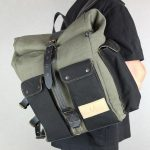 ''Aviator'' Roll Top Backpack - 2