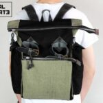 Canvas Utility Backpack - 4