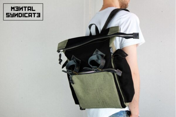 Canvas Utility Backpack - 0