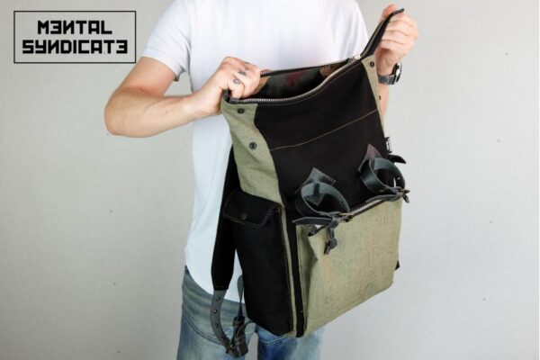 Canvas Utility Backpack - 2