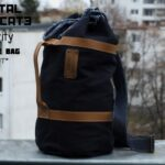 Cavity Raw Denim Duffle Bag Brut - 2