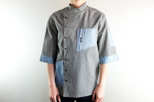 Chef Jacket ''One Self'' SKY - 2