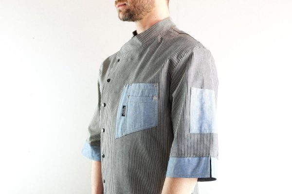Chef Jacket ''One Self'' SKY - 3