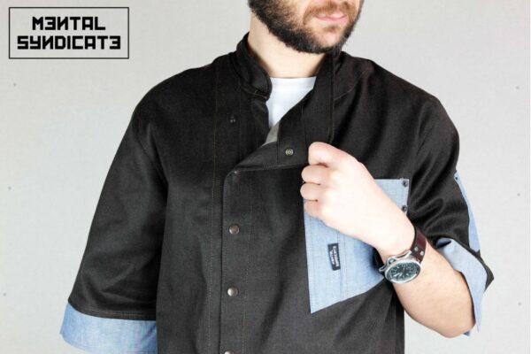 Chef Jacket ''One Self'' БЛЕК - 0