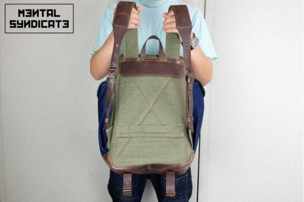 ''Flip'' Backpack Military - 3