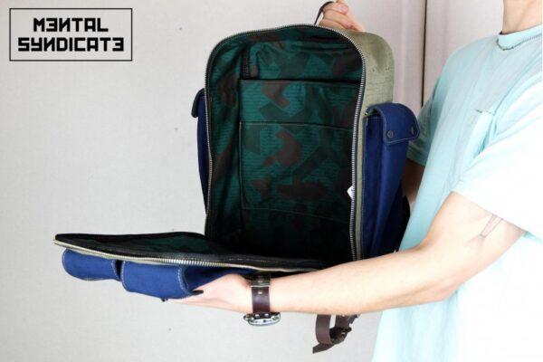 ''Flip'' Backpack Military - 1