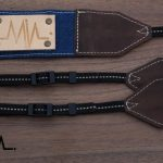 Raw Denim Camera Strap Lash Sky DSLR / SLR - 1