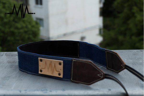 Raw Denim Camera Strap Lash Sky DSLR / SLR - 0