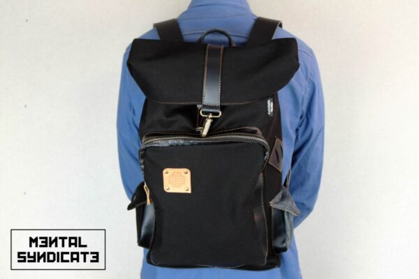 Loot Canvas Backpack Black - 3