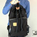 Loot Canvas Backpack Black - 5