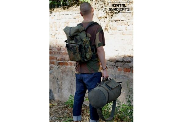 Canvas Backpack ''Loot'' CAMO - 2