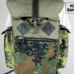 Canvas Backpack ''Loot'' CAMO - 4