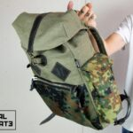 Canvas Backpack ''Loot'' CAMO - 5