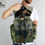 Canvas Backpack ''Loot'' CAMO - 0
