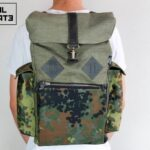 Canvas Backpack ''Loot'' CAMO - 1