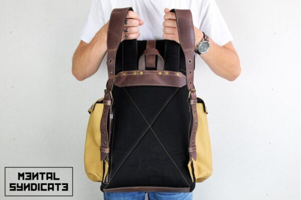 Canvas Backpack ''Loot'' MSTRD - 2
