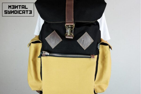 Canvas Backpack ''Loot'' MSTRD - 3