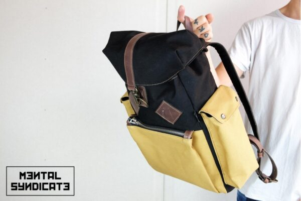Canvas Backpack ''Loot'' MSTRD - 4
