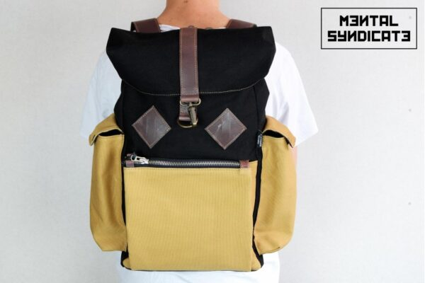 Canvas Backpack ''Loot'' MSTRD - 5