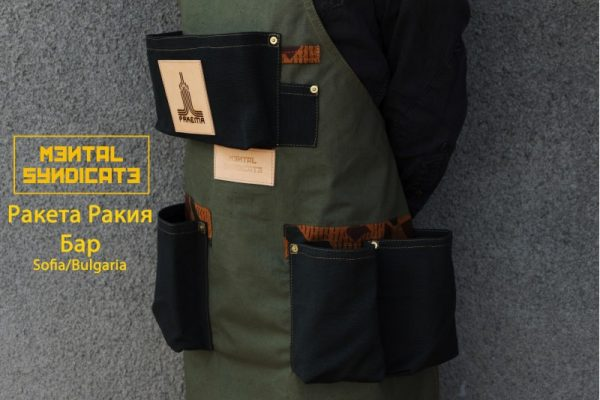 Military Canvas And Linen Apron RRB - 0