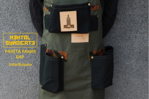 Military Canvas And Linen Apron RRB - 1
