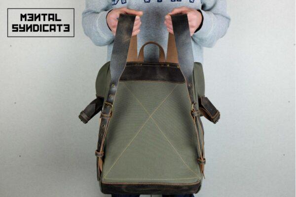 ''Aviator'' Roll Top Backpack - 6