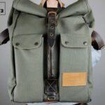 ''Aviator'' Roll Top Backpack - 7