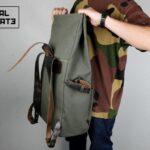 ''Aviator'' Roll Top Backpack - 1