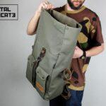 ''Aviator'' Roll Top Backpack - 2