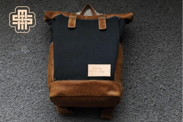 Chef Roll Top Backpack ''Knife Ship'' - 2