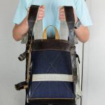 Roll Top Backpack ''Under The Bridge'' 5 YRS - 10