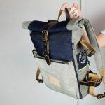 Roll Top Backpack ''Under The Bridge'' 5 YRS - 2