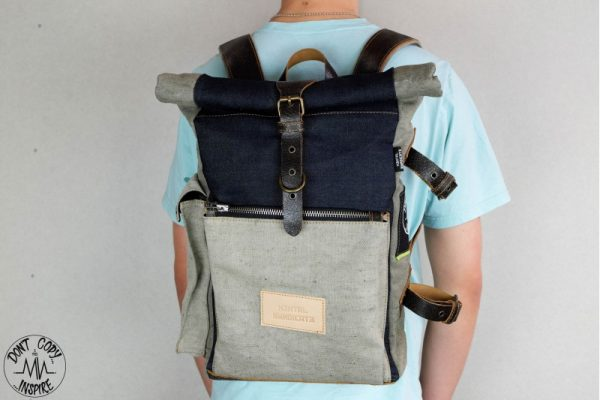 Roll Top Backpack ''Under The Bridge'' 5 YRS - 3
