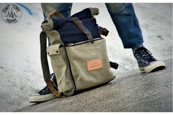 Roll Top Backpack ''Under The Bridge'' 5 YRS - 5