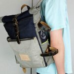 Roll Top Backpack ''Under The Bridge'' 5 YRS - 6