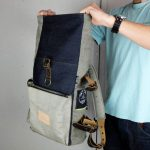 Roll Top Backpack ''Under The Bridge'' 5 YRS - 7