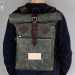 "Roll Top Backpack ""Under The Bridge"" RRB - 2"