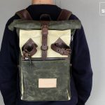 "Roll Top Backpack ""Under The Bridge"" RRB MIX - 3"