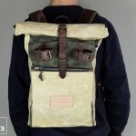 """Roll Top Backpack """"Under The Bridge"""" RRB W - 3"""