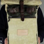 """Roll Top Backpack """"Under The Bridge"""" RRB W - 2"""