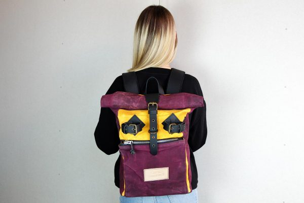 Roll Top Backpack ''Under The Bridge'' WB - 4