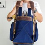 Canvas ''Snap'' Backpack - 5