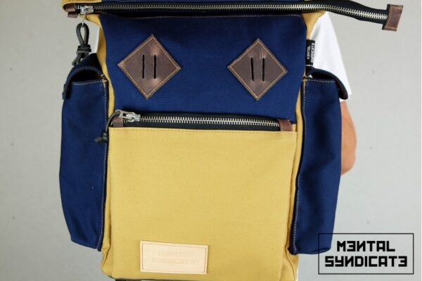 Canvas ''Snap'' Backpack - 0