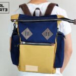 Canvas ''Snap'' Backpack - 1