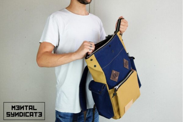 Canvas ''Snap'' Backpack - 2